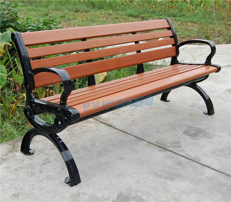 耐用好打理的塑木户外坐凳