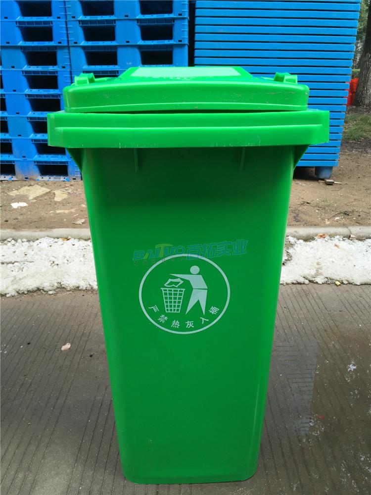 户外塑料垃圾桶案例展示图