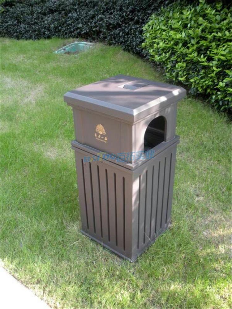 户外垃圾桶果皮箱系列实物图