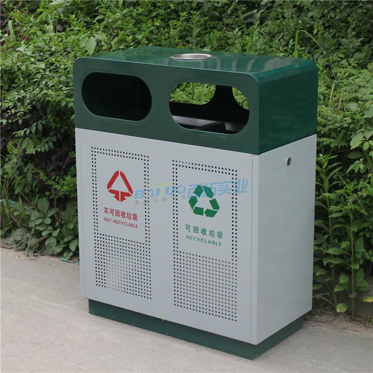 火车站户外垃圾桶实物图