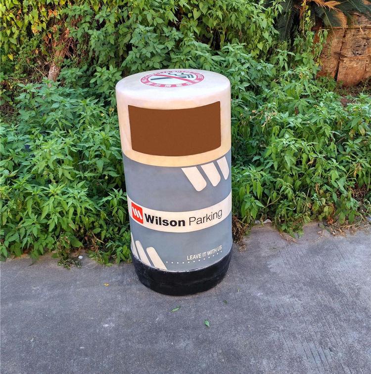 小区户外垃圾桶