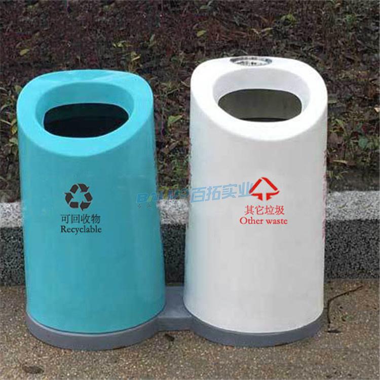 户外垃圾桶材料之玻璃钢