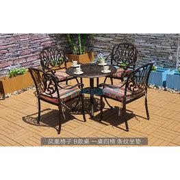 户外园林桌椅