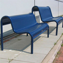 公共设施户外长凳
